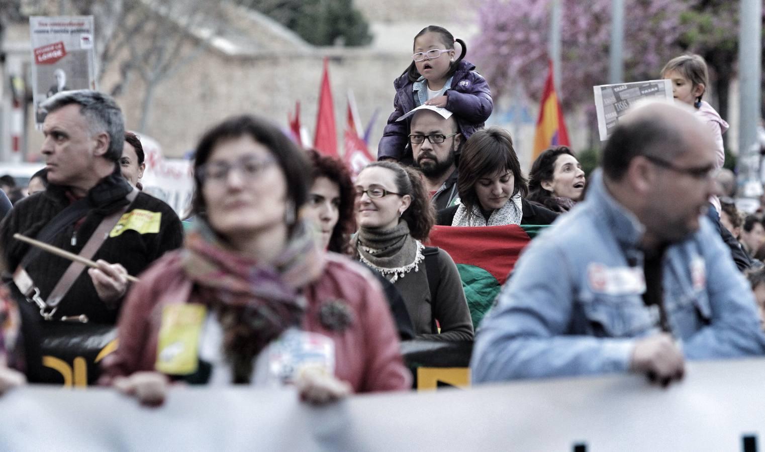 Marcha en Alicante en defensa de la educación pública