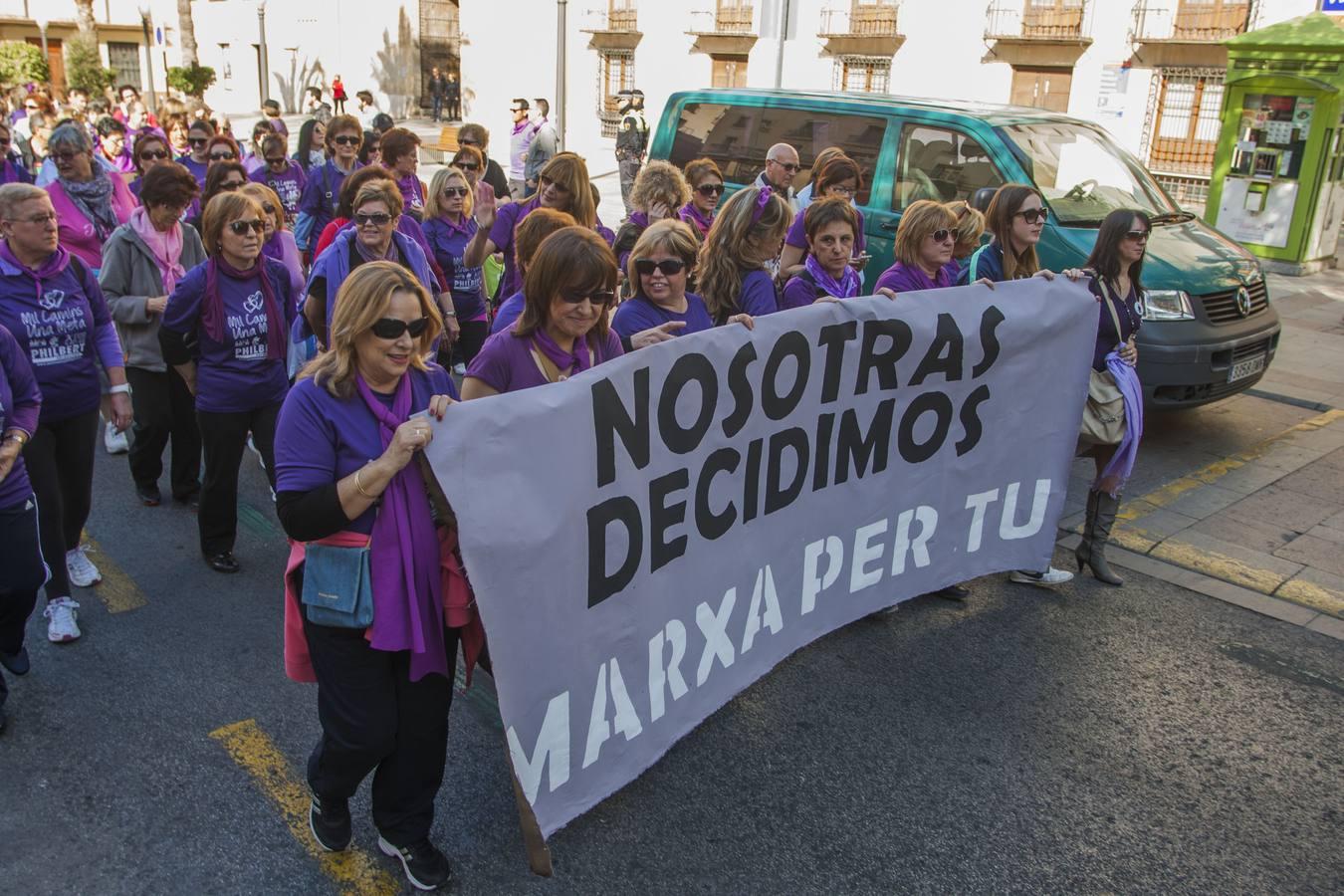 Marcha en Elche por el Día de la Mujer