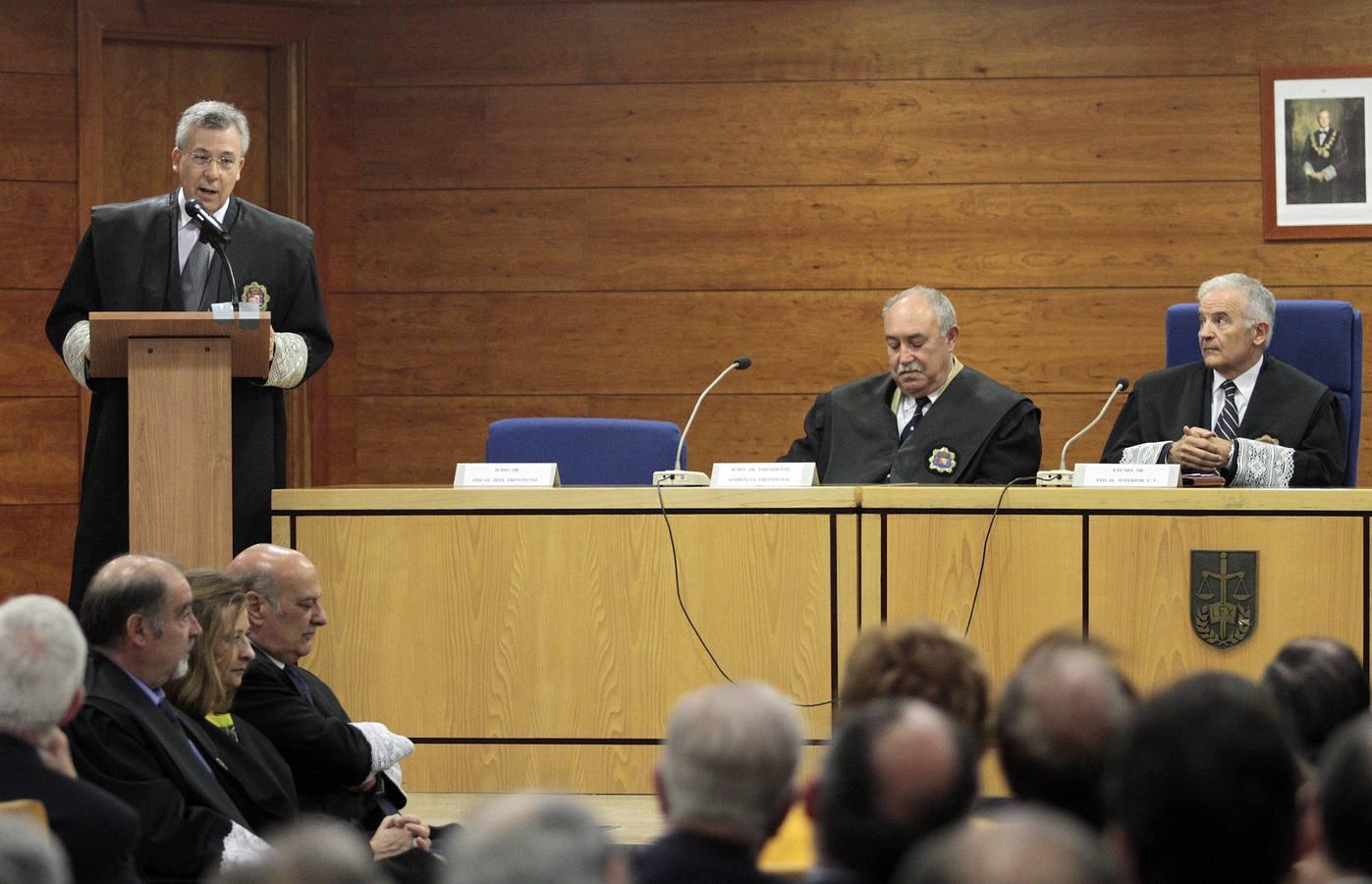 Toma de posesión del nuevo fiscal jefe de Alicante, Jorge Rabasa