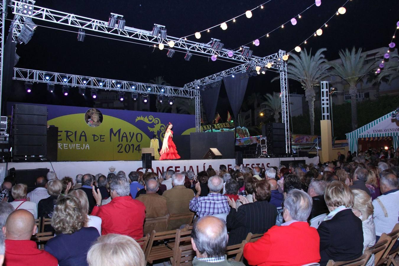Homenaje a Lolita Sevilla en la Feria de Torrevieja
