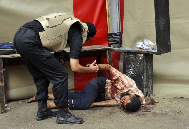 Decenas de muertos en las acampadas pro Mursi en Egipto