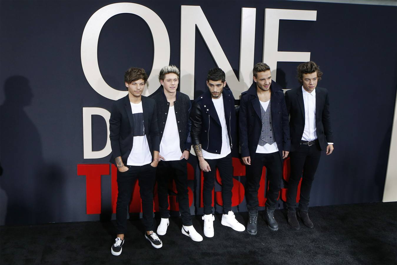 Estreno de la película de One Direction 'This Is Us' en Nueva York