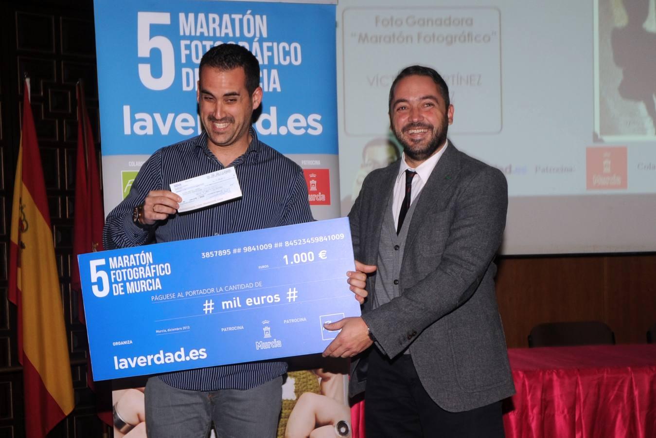 Los ganadores del V Maratón Fotográfico recogen sus premios