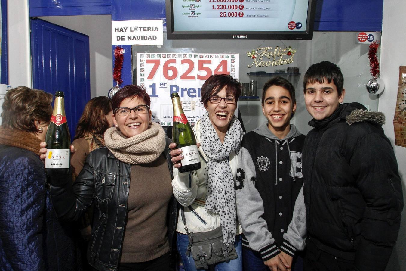 Monforte de Lemos se lleva el 'Gordo' de 'El Niño' con el 76254