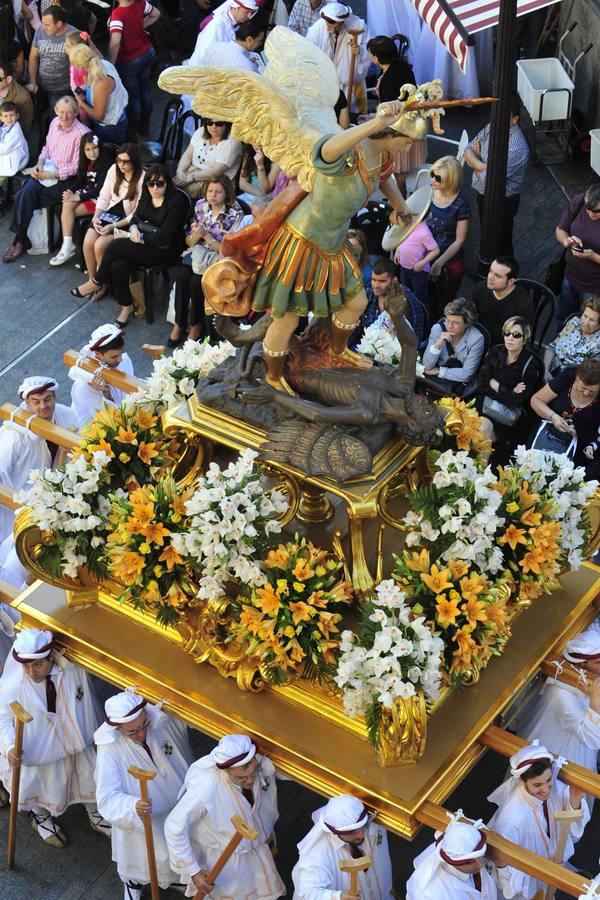 Domingo de júbilo en Murcia