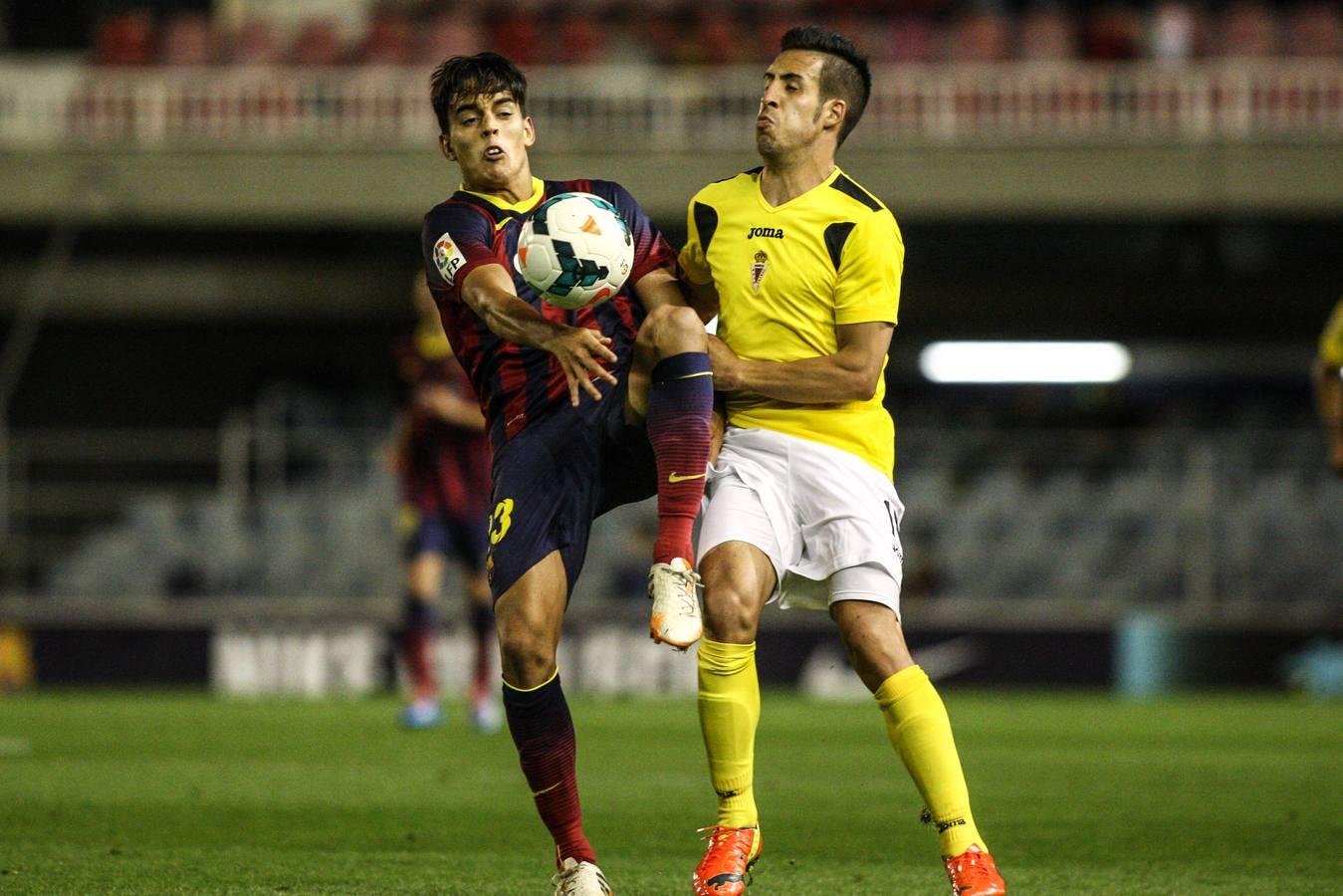 El Barcelona B golea al Murcia (4-0)