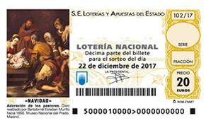 Localizar números de Loteria Navidad 2017